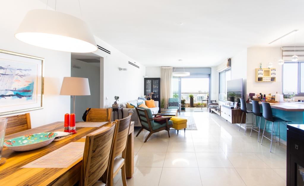 דירת יוקרה בקומה גבוהה עם נוף פתוח מדהים