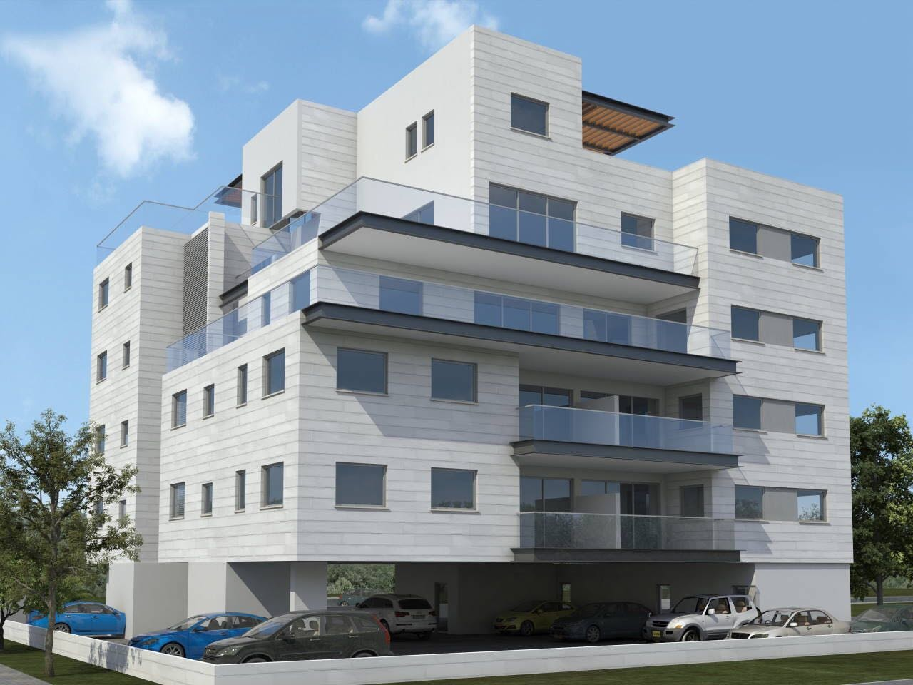 במערב בבניין בוטיק פנטהאוס חדש לכניסה מידית!